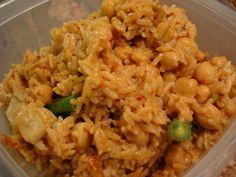 Averie Cooks » Szechuan Shrimp Stir Fry with Fried Rice