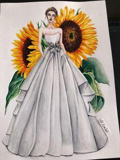 Fashion Figure Drawing, Fashion Drawing Dresses, Fashion Illustration Dresses, Dress Illustration, Fashion Design Sketchbook, Fashion Design Drawings, Fashion Sketches, Dress Design Drawing, Dress Drawing