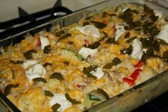 Cheesy Baked Rice Casserole Recipe