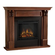 This Ashley Ventless Fireplace From Thos. Baker Is Both Traditional And  Stately In Appeal And. Electric ... Part 36