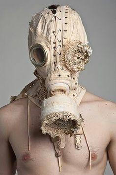 Corset gas mask