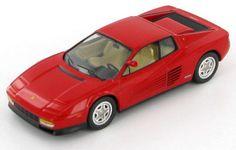 Model of the 1984 Ferrari Testarossa in 1:43 scale.