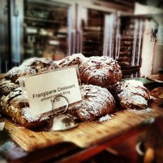 Tartine Bakery in San Francisco, CA - famous bakery! Good croissants