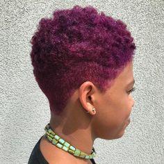 Purple Tapered Twa