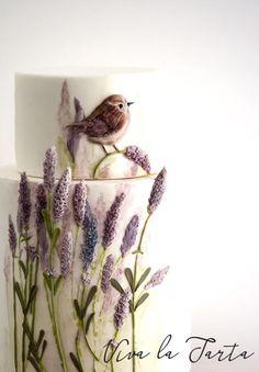 Lavenders - Cake by Viva la Tarta