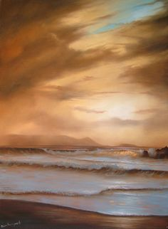 Golden Skies  oil on canvas  50 x 70 cm  SOLD