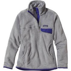 Patagonia - Re-Tool Snap-T Fleece Pullover - Women's - Tailored Grey/Nickel X-dye/Harvest Moon Blue