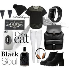 Black is good for the soul by mathildajess on Polyvore featuring polyvore, fashion, style, adidas, AG Adriano Goldschmied, Lipstik, ASOS, Alexis Bittar, MCM, Burton, Lipsy, New View, black, ootd, outfitideas and polyvorefashion