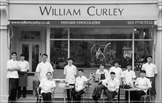 William Curley's chocolate shop and cafe- a 'must-go' for chocolate lovers.