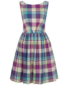 Emily and Fin Abigail plaid dress on http://www.aspirestyle.co.uk