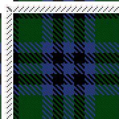 draft image: Austin (BK4, G18, B8, BK8, B8), Scottish and Other Tartans Collection, 4S, 4T