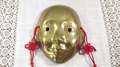 Vintage Chinese Theater Face Mask Solid Brass Wall Decor by OutrageousVintagious on Etsy Vintage Decor, Solid Brass, Theater, I Shop, Mid Century, Chinese, Wall Decor, Asian, Bird