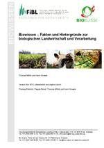 Biowissen - Fakten und Hintergründe.  Von FIBL und BioSuisse Mesh, Knowledge