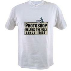 Photoshop - Helping the Ugly T by wtdugly