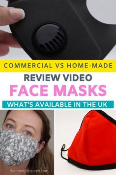 We road test a number of face masks available to buy in the UK. Commercial, quick/emergency buy, budget option, and homemade. Find out which is best, and why. Travelling in 2020, masks are now a part of our everyday life. | pandemic | #Covid19 | #facemasks #masks | #mask | #travel | #iRoamToo |#RoamingRequired Travel Kits, New Travel, Travel Hacks, Travel Ideas, Travel Inspiration, Uk Retail, Best Face Products, About Uk, Adventure Travel