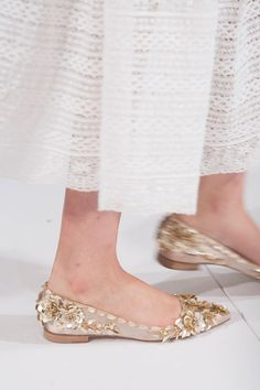 From Simple to Outrageous, NYFW's Runway Shoes Are Here: Oscar de la Renta Spring 2014