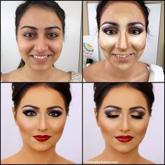 Full Bridal Makeup Step By Step : 1000+ images about saleha abbasi on Pinterest Indian ...