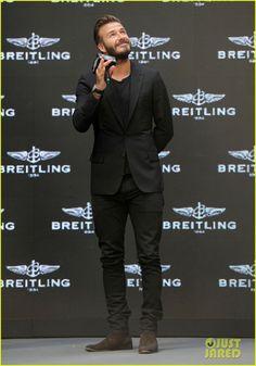 david beckham breitling press conference in beijing 01