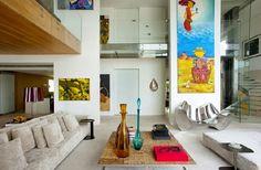 Casa com pé direito duplo - como decorar? Veja dicas e modelos! - Decor Salteado - Blog de Decoração e Arquitetura