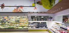Delhaize by Minale Design Strategy - Retail Design - Fresh aisle - Caterer