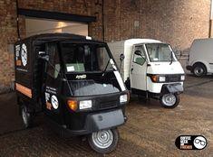 Piaggio Ape coffee vans