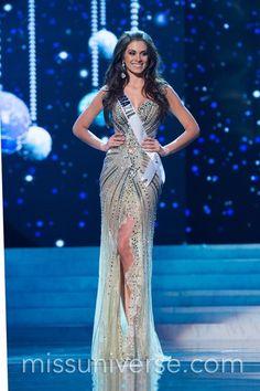 Vestido de gala da miss Brasil.