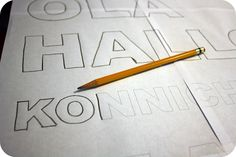 How to transfer letters! good website too