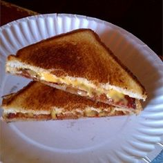Make cheese sandwiches 9 at a time on a cookie sheet, and bake in the oven!