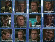 Dr. Daniel Jackson faces - Michael Shanks Stargate SG1