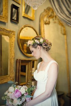 Whimsical and Romantic Wedding Inspiration Shoot By Her Lovely Heart