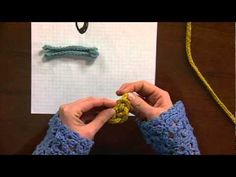 Knitted Closures demo (I-cords)