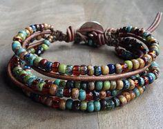 Bohemian bracelet boho chic bracelet hippie bracelet bohemian womens jewelry rustic bracelet western bracelet gypsy gift for her Boho chic bracelet hippie bracelet womens jewelry rustic - My Accessories World Rustic Jewelry, Boho Jewelry, Beaded Jewelry, Fashion Jewelry, Women Jewelry, Western Jewelry, Hair Jewelry, Jewelry Ideas, Jewlery