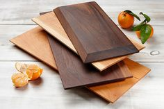 Walnut Wood Serving Board Cheese Board wood slab by EmersonPringle