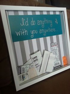 shadow box ideas for couples