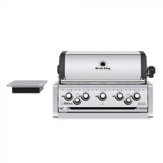 Broil King Imperial 590 Stainless Steel 5 Burner Built-In Natural Gas Grill - Natural Gas