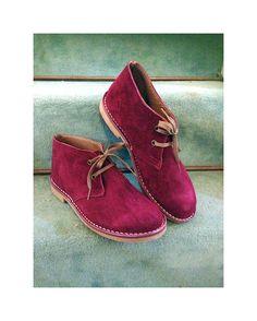 Desert boots women genuine leather winter shoes by SANDALIANAS, $99.00