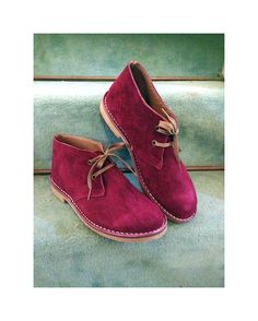 Desert boots women genuine leather winter shoes by SANDALIANAS, $99.00
