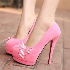 Amazing Fashion High HeelsJINJOE Woman Boots Pointed Toe High Heels Pumps Party Wedding boots Female Stilettos Bootie Thin heel pumps B Pink Shoes, Hot Shoes, Crazy Shoes, Me Too Shoes, Pink Pumps, Nude Pumps, Pretty Shoes, Beautiful Shoes, Gorgeous Heels