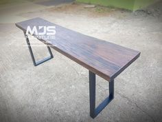 Meja Bar Table For Coffee Shop Wood Table, Outdoor Furniture, Outdoor Decor, Coffee Shop, Dining Bench, Bar, Projects, Shopping, Home Decor