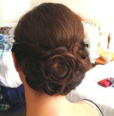 back view of her hair Bride Kristen updo http://lisaleming.com/blog/