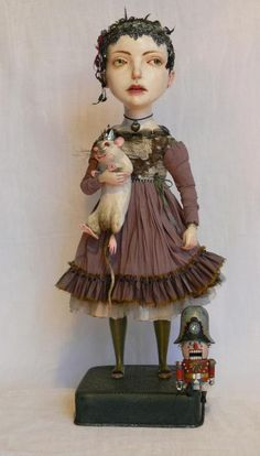 """Mary""~Art Doll by Gulya Alekseeva, 2012. http://algulya.livejournal.com/77791.html"