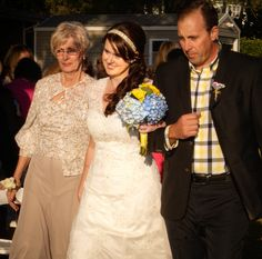 #PandTGetMarried ~ walk down the aisle with grandma and uncle