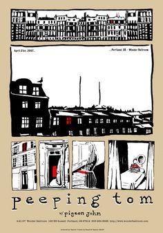 Peeping Tom by Emek