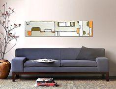 MODERNiCA original abstract modern painting  by linneaheideart, $300.00