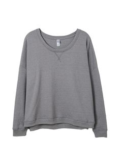 A relaxed pullover made from our super soft Eco Mock Twist French Terry. Versatile and comfortable for every occasion.
