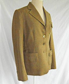 d7a3fde429c92 Brioni Jacket Blazer Deadstock NOS New Old Stock Couture Custom Mustard 10