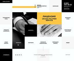 Grand Polymer Service on Web Design Served