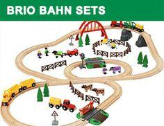 Brio Country Life togbanesett i tre - 33516 Brio Train Track, Brio Train Set, Brio Bahn, Brio Toys, Wooden Toy Train, Starter Set, Train Layouts, Jelsa, Train Tracks