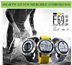 ¡El Smartwatch para los nadadores! Relojes inteligentes bluetooth sumergibles para móviles Android e iOs.