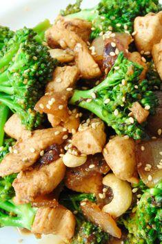 Pollo brocoli soja @tastydetails.com